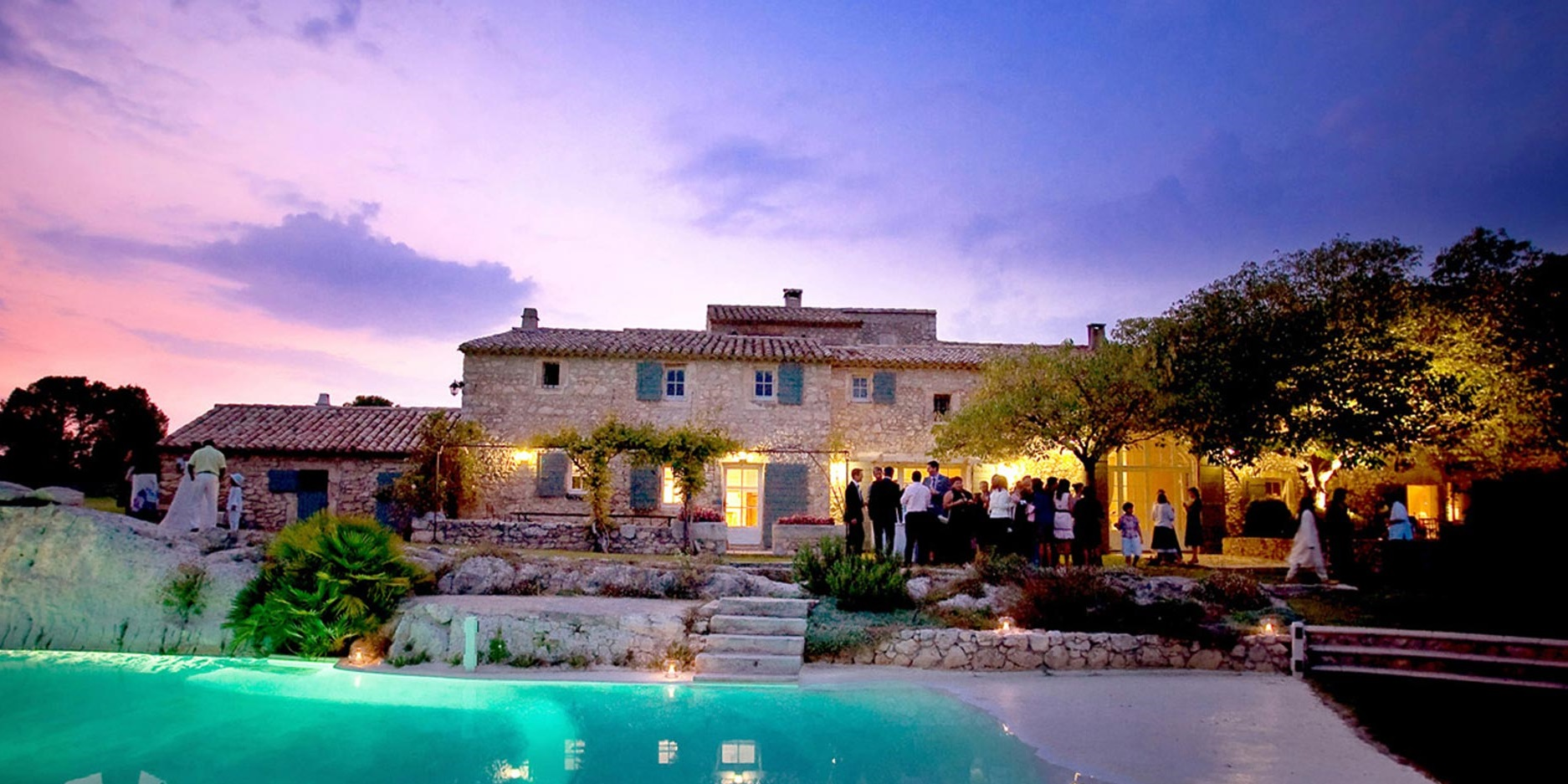 reception mariage provence