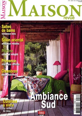 on parle du mas de la rose dans la presse nationale et internationale. Black Bedroom Furniture Sets. Home Design Ideas