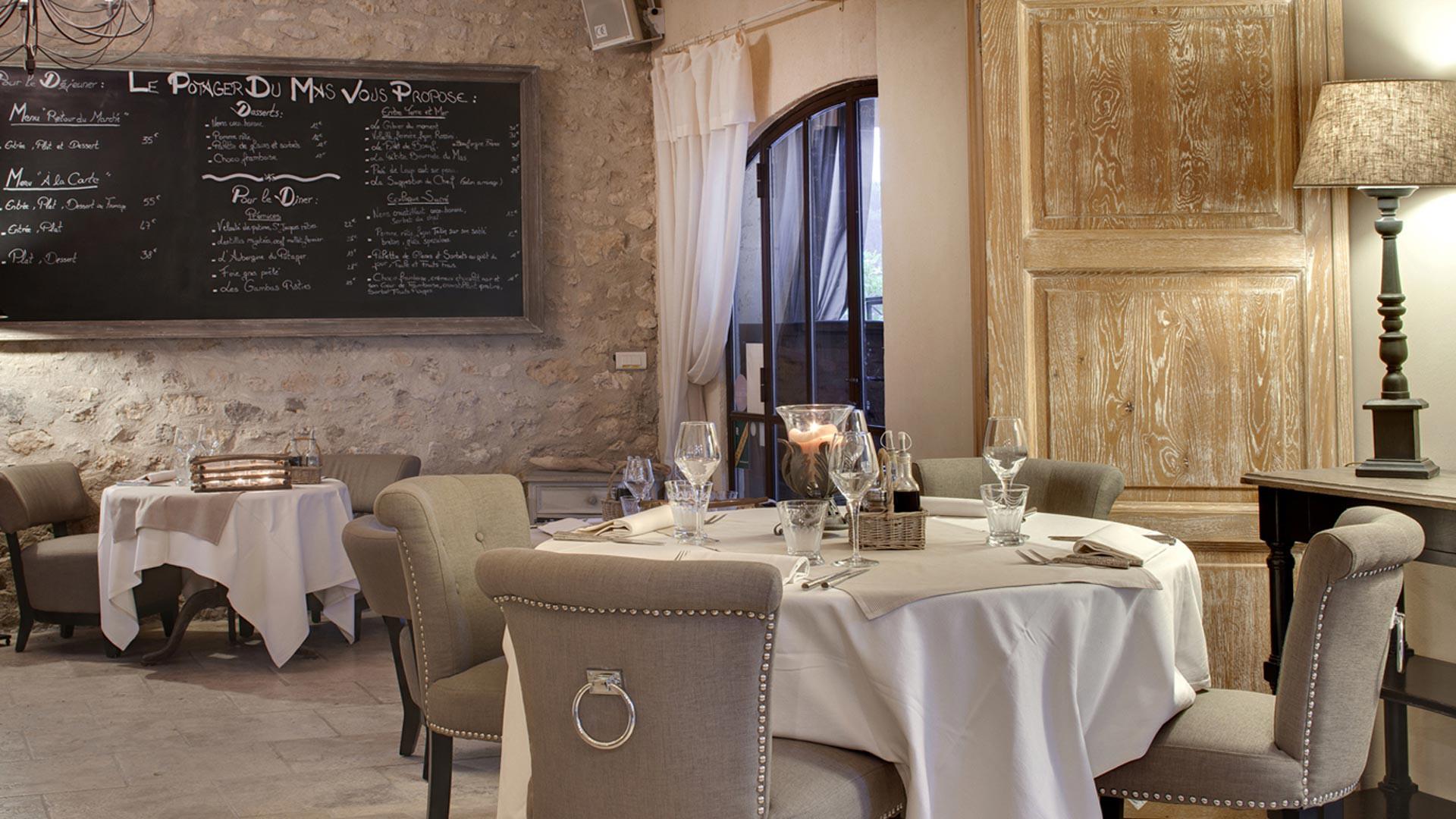 Galeries de photos du mas de la rose h tel de luxe en - Restaurant gastronomique salon de provence ...