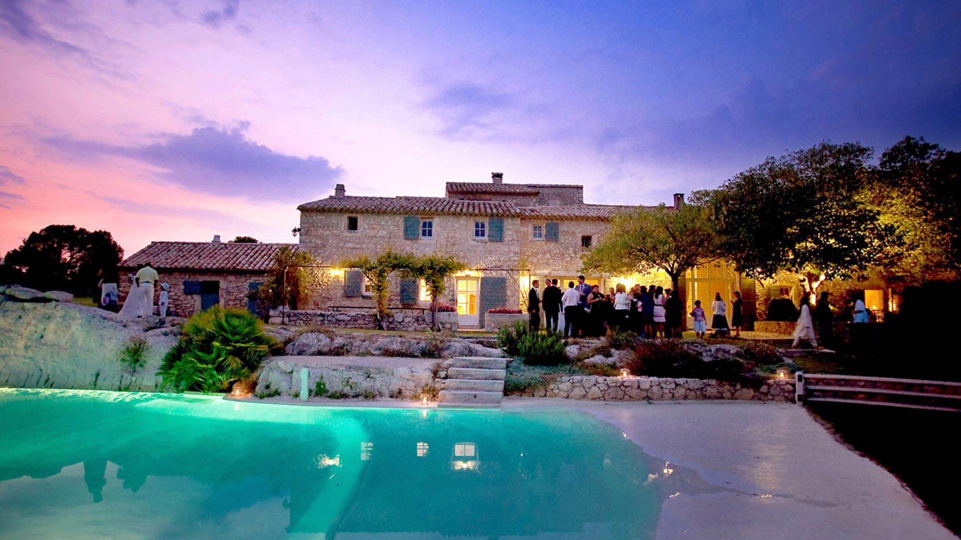 Galeries de photos du mas de la rose h tel de luxe en provence - Photo de mas provencal ...